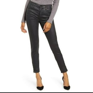 Blank NYC Faux Black Leather Pants